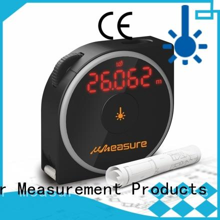 UMeasure carrying laser distance measuring device bluetooth for measuring