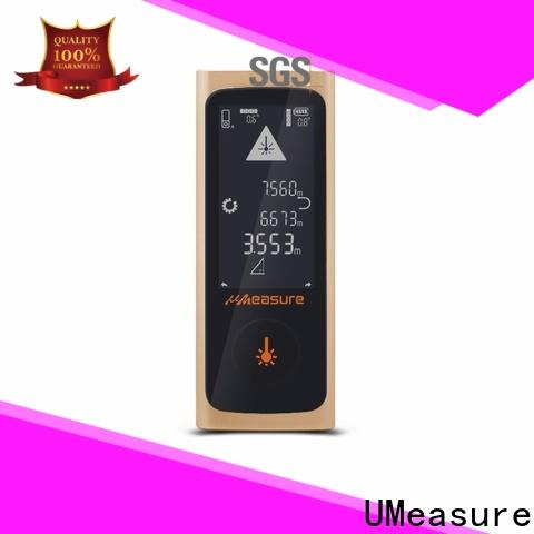UMeasure laser measure reviews display for measuring