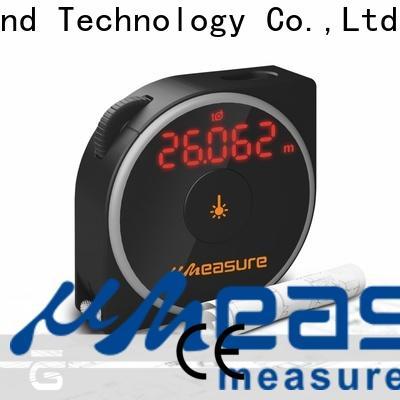 durable laser distance measurer one button backlit for worker