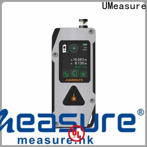 UMeasure assist best laser distance measurer display for worker