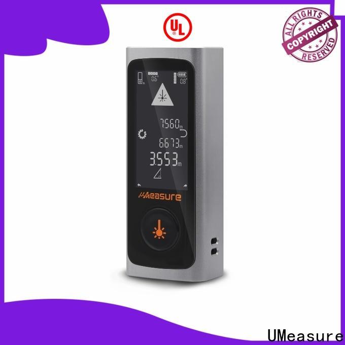 UMeasure usb charge laser measure tape handhold for measuring