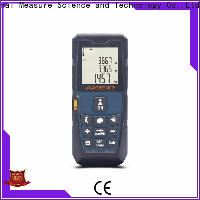 UMeasure laser distance measuring device backlit for measuring