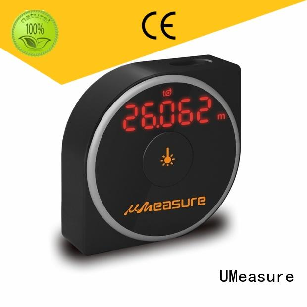 UMeasure tape laser distance meter suppliers display for worker