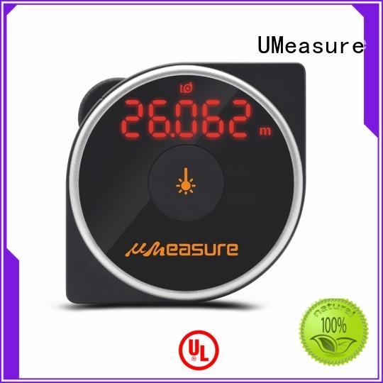 one laser distance measuring tool backlit measuring