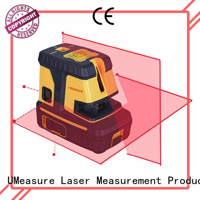portable best cross line laser level vertical house UMeasure