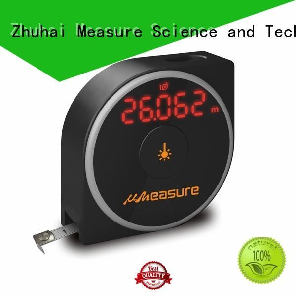 UMeasure carrying laser distance measuring tool backlit for sale