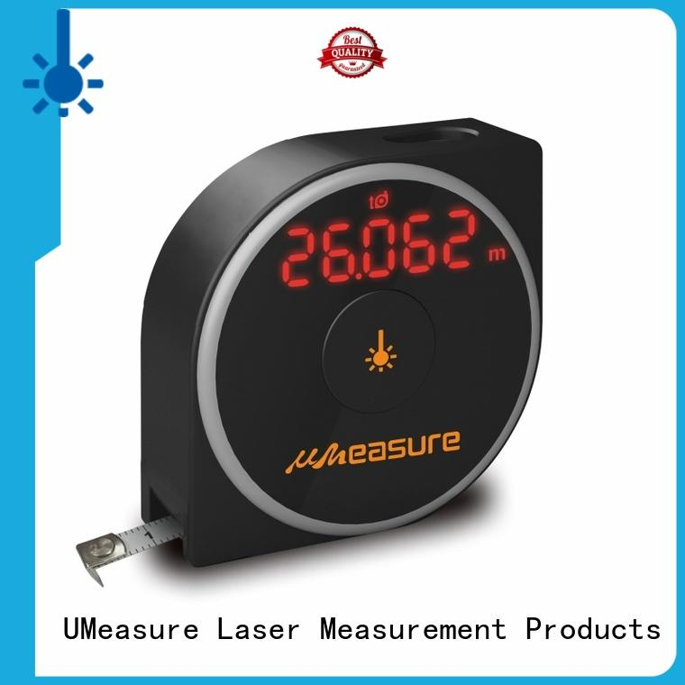 UMeasure electronic digital laser distance meter pythagorean for measuring