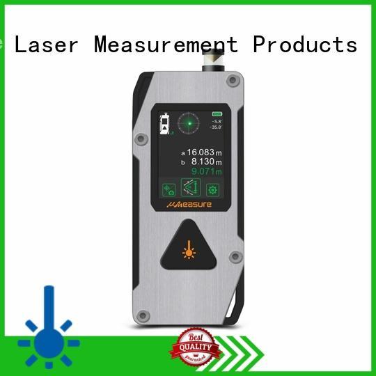 multimode distance meter laser backlit handhold for measuring