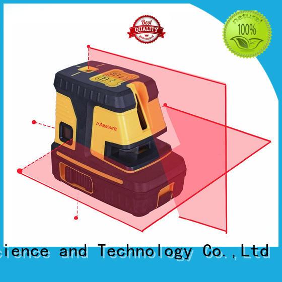 UMeasure vertical green laser level transfer
