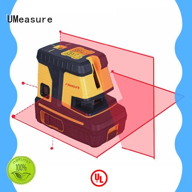 UMeasure leveling laser line level wall