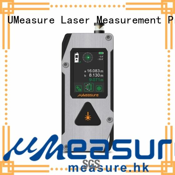 UMeasure long laser measuring tape price backlit for wholesale