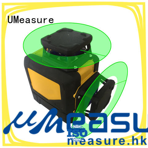 UMeasure arrival green laser level point house measuring