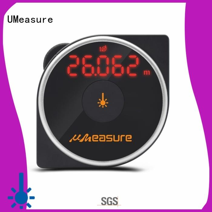 UMeasure long laser measure tape bluetooth for worker