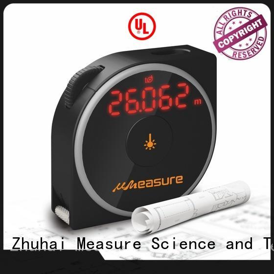 1.5mm accurate curve radian wheel track measurement laser tape measure MS7-40B