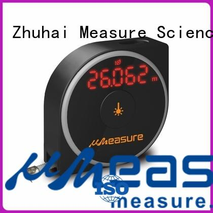 UMeasure Brand button precision wheel laser range meter digital