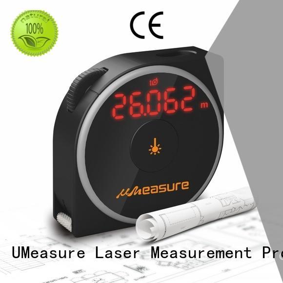 UMeasure top mode laser measure tape backlit for sale