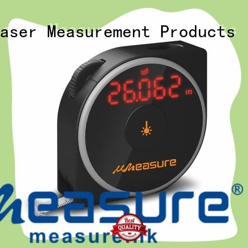 Hot laser distance measurer measuring UMeasure Brand