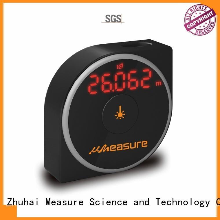 UMeasure handheld best laser distance measurer handhold for wholesale