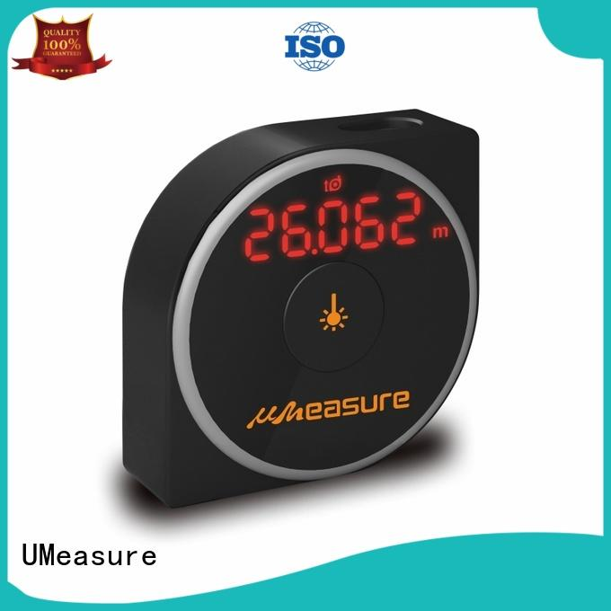 UMeasure tool laser range meter display for measuring