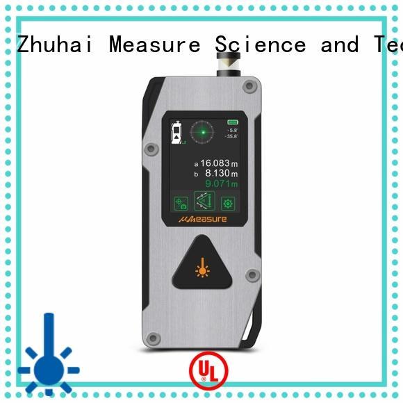 UMeasure latest laser distance finder distance meter room measuring