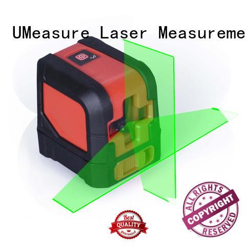 UMeasure portable line laser plumb house measuring