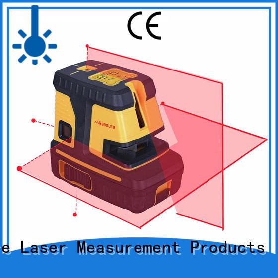UMeasure self cross line laser level transfer house measuring