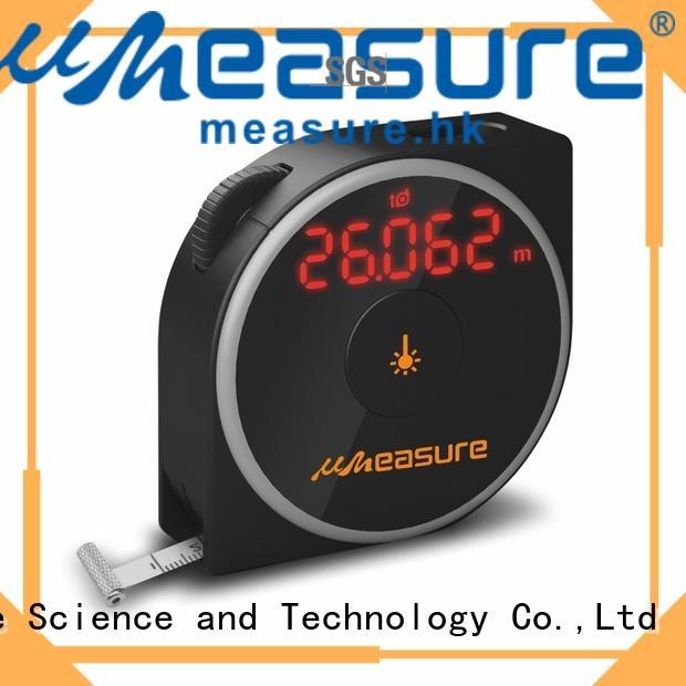measurement laser distance meter eye-safe for worker UMeasure