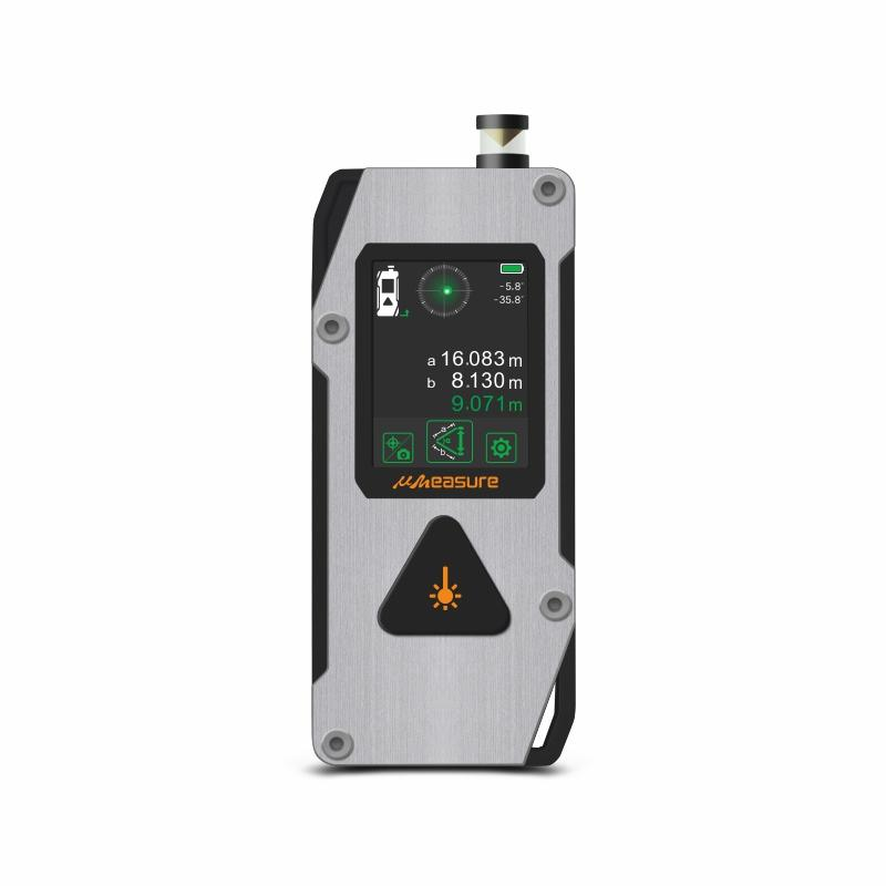 UMeasure handheld laser distance backlit for measuring-2