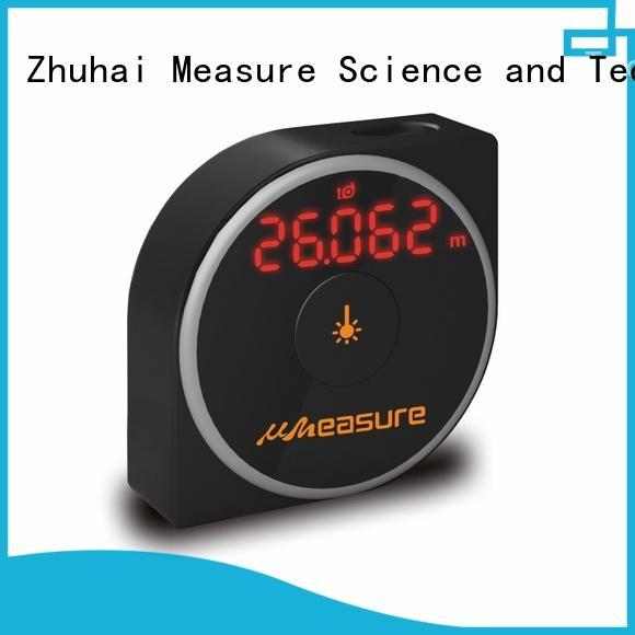 durable laser distance measuring tool long backlit for worker