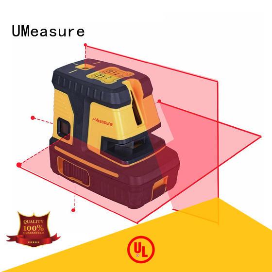 UMeasure at-sale cross line laser level surround house measuring