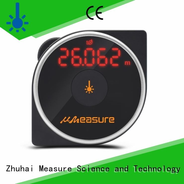 laser distance meter touch backlit for measuring