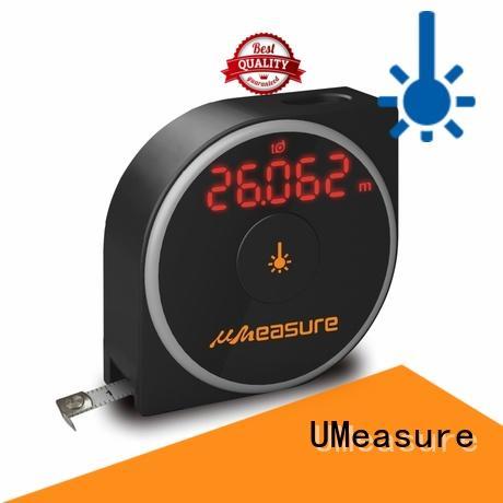 UMeasure laser distance meter backlit for sale