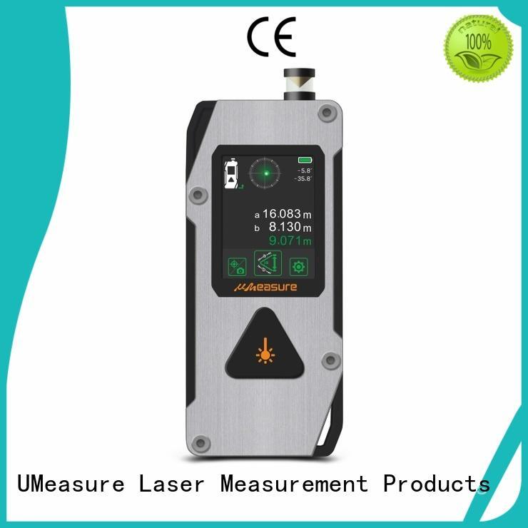 UMeasure handheld best laser measuring tool backlit for measuring