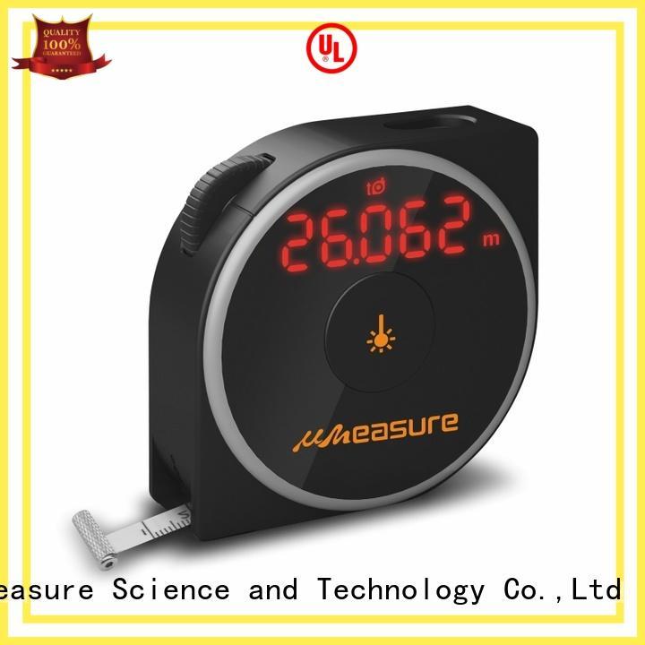 electronic best laser distance measurer backlit for worker