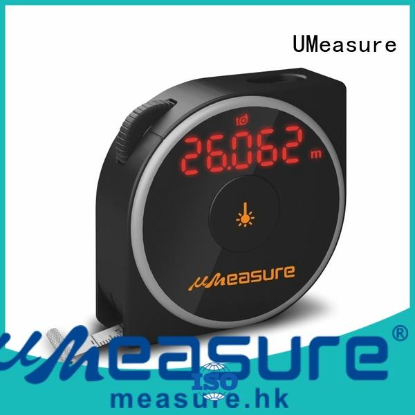UMeasure bubble laser distance measuring tool distance for worker