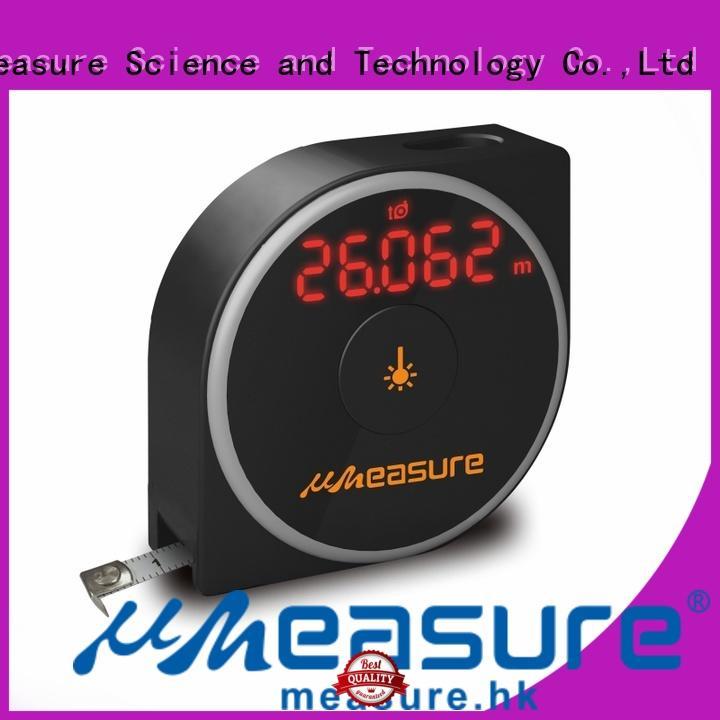 UMeasure long digital measuring tape backlit for wholesale