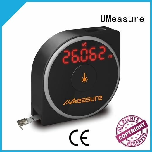 UMeasure durable laser tape measure reviews high-accuracy for worker