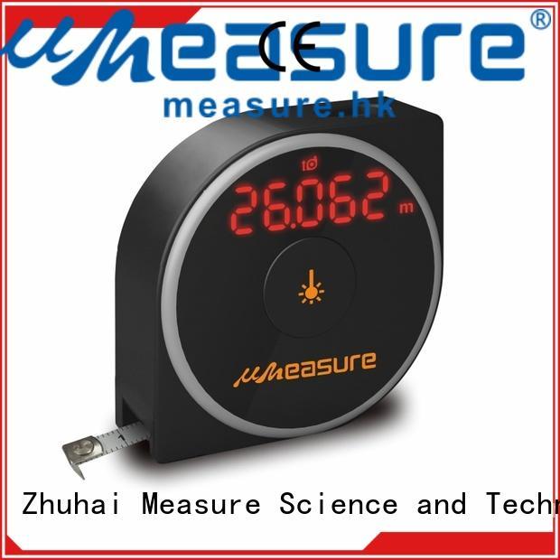 laser distance meter 60m bubble measuring UMeasure