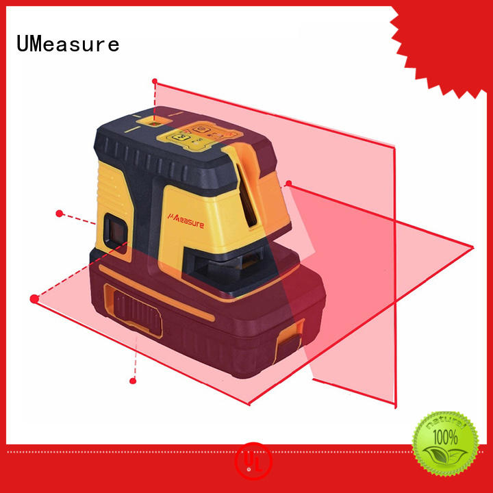 UMeasure factory price cross line laser level point house measuring