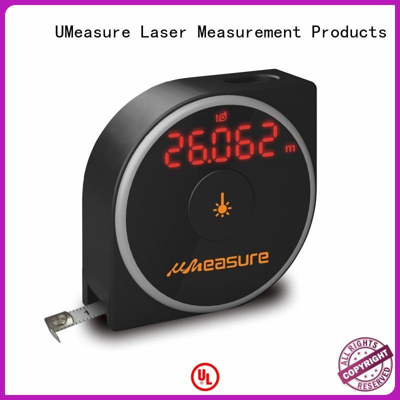 UMeasure multifunction laser measure reviews backlit for measuring