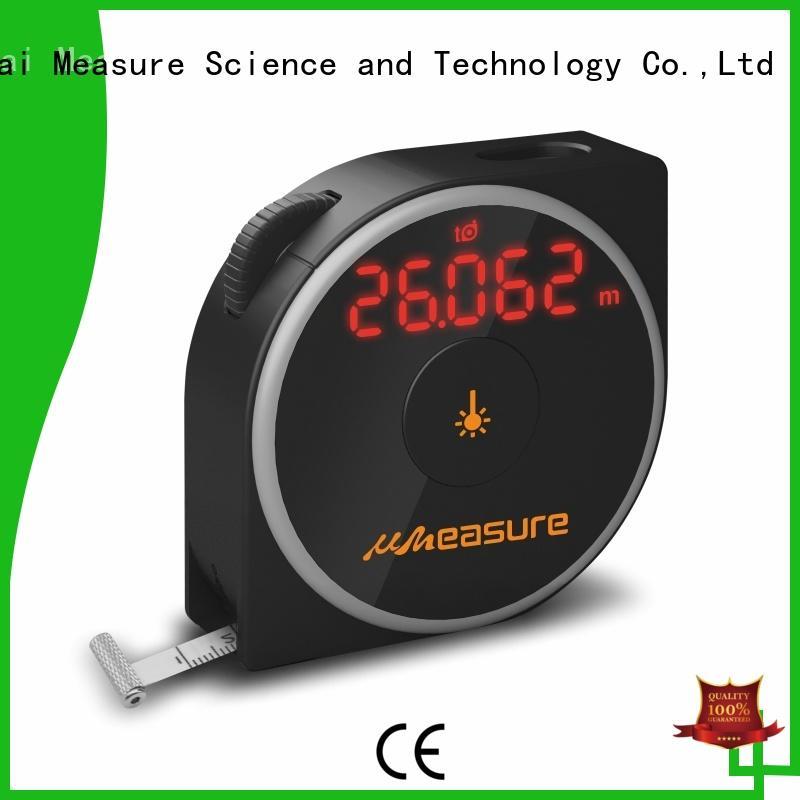 UMeasure multifunction digital measuring tape display for worker
