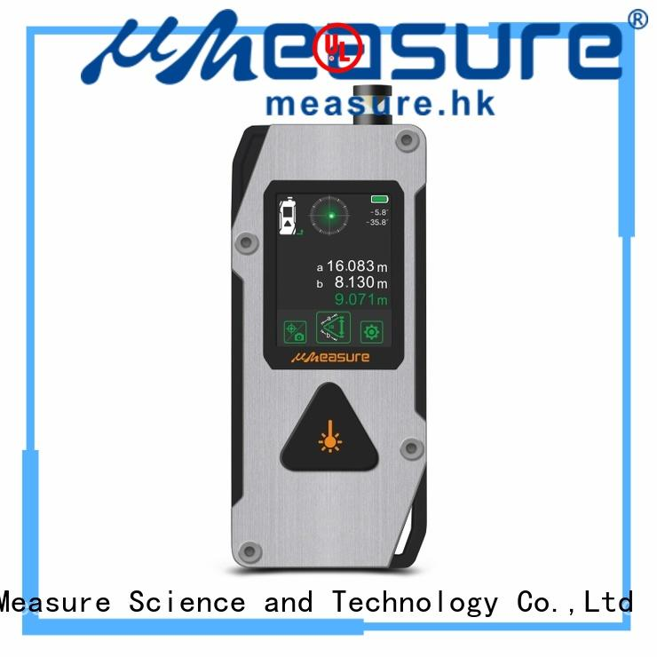 digital Custom touch household laser distance measurer UMeasure pouch