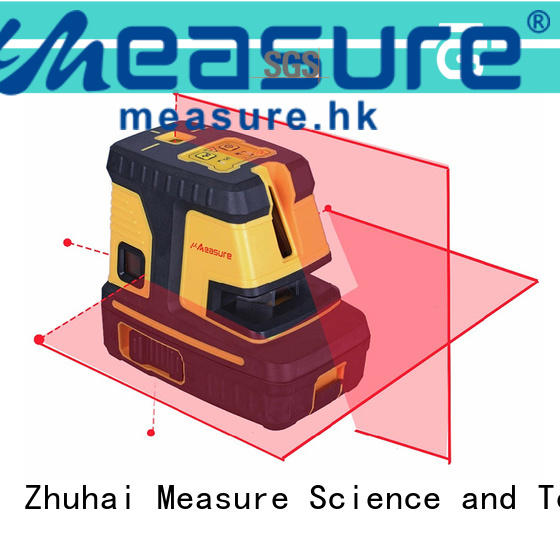 UMeasure arrival laser line level point house