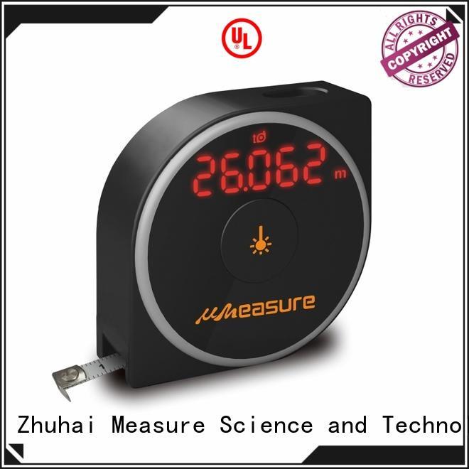 electronic multifunction button UMeasure Brand laser range meter manufacture