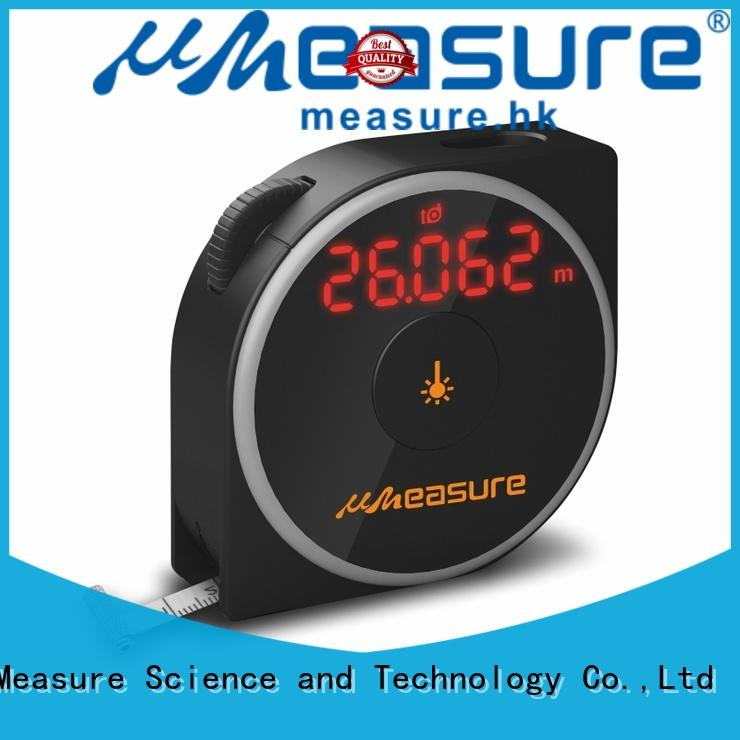 high precision laser measure reviews backlit for worker UMeasure
