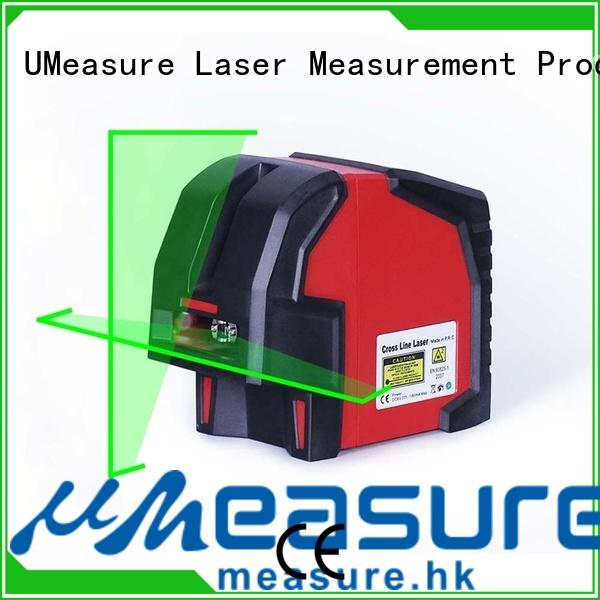 UMeasure horizontal self leveling laser level bracket house measuring