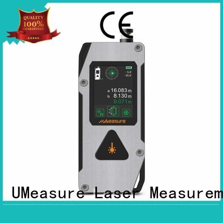 UMeasure latest laser distance finder bulk production room measuring