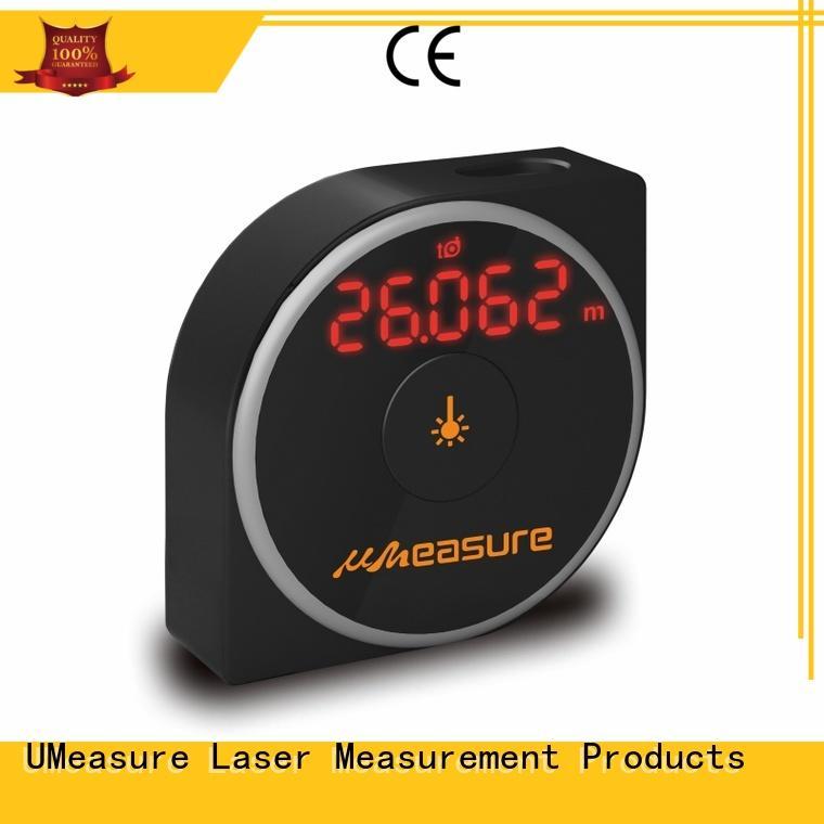 UMeasure pouch digital measuring device backlit for measuring