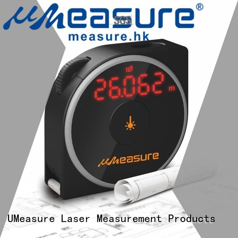 UMeasure large best laser measuring tool backlit for measuring