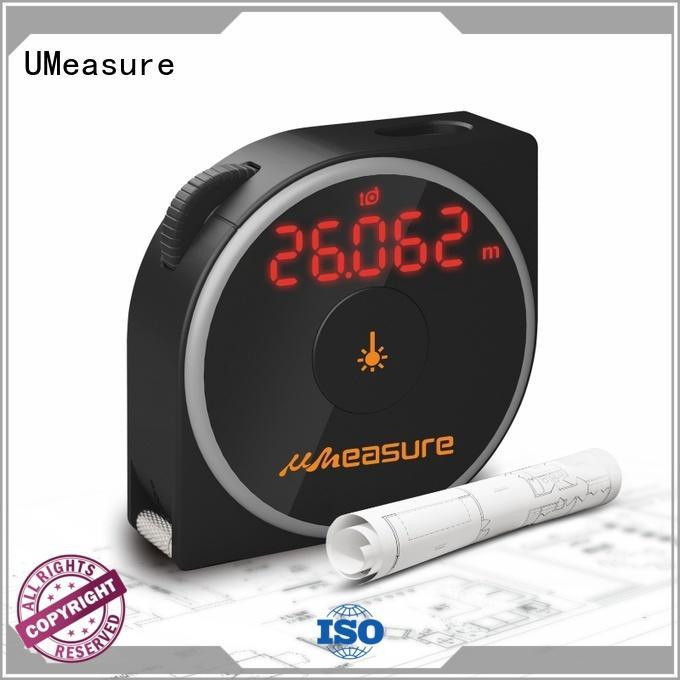 UMeasure long laser distance measurer backlit for wholesale